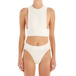 Are you am I rin bra top in white